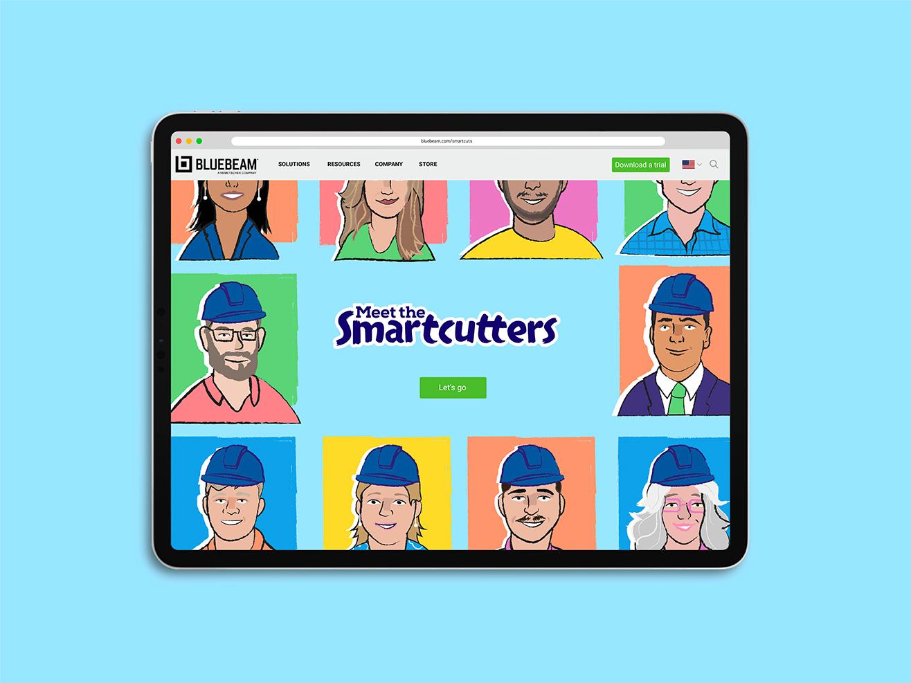 Bluebeam smartcuts website