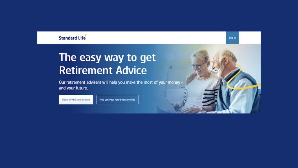 Standard Life homepage